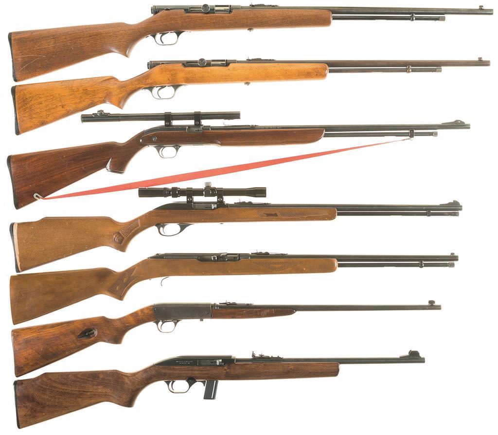 Seven Semi-Automatic Rifles -A) Savage Model 6A Rifle