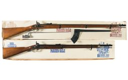 Two Boxed Reproduction Enfield Rifle Muskets