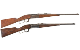 Collector's Lot of Two Savage Model 1899 Lever Action Rifles