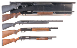 Five Sporting Shotguns