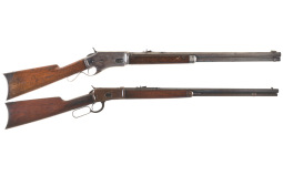 Collector's Lot of Two Lever Action Rifles