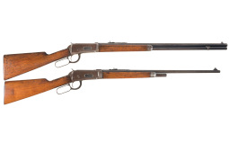 Collector's Lot of Two Winchester Lever Action Rifles