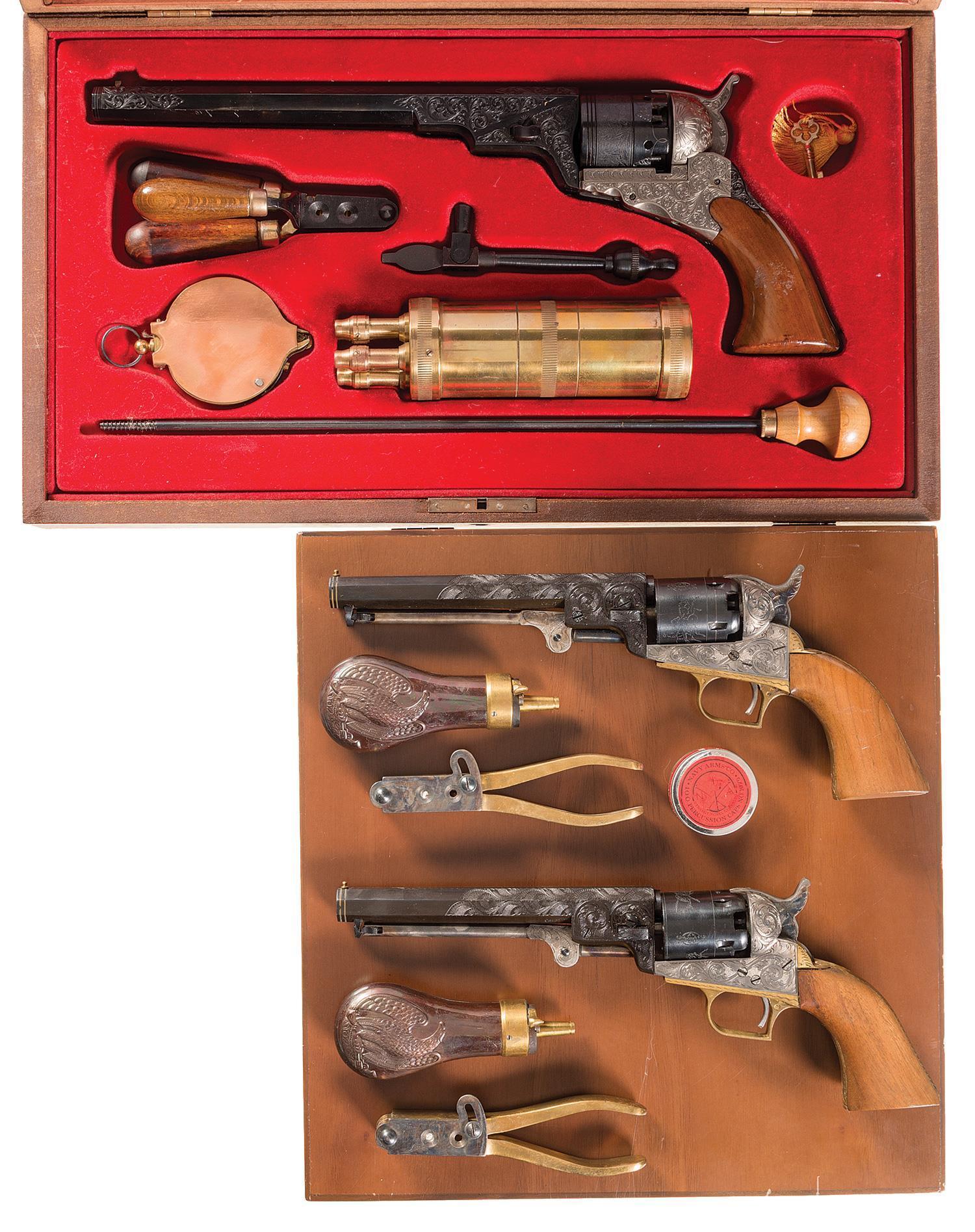 Repro Italian Antique Tarot Minchiate Cards 1 790: Reproduction-Revolver Firearms Auction Lot-1035
