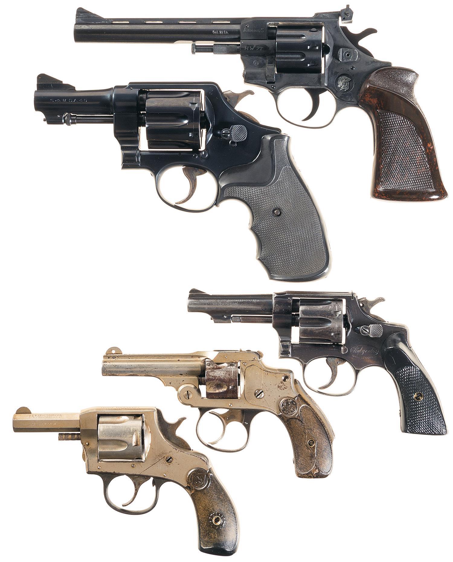 Five DA Revolvers