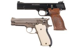 Two Smith & Wesson Semi-Automatic Pistols
