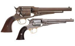 Two Remington New Model Revolvers