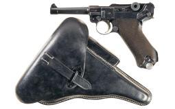 Mauser P08 Pistol 9 mm