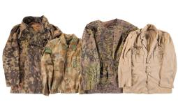 Grouping of Nazi Style Uniform Blouses and Jackets