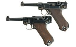 Two DWM Pistols