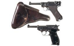 Two Nazi Proofed Semi-Automatic Pistols