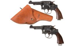 Two U.S. Military Smith & Wesson Double Action Revolvers