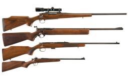 Four Sporting Rifles