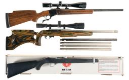 Three Ruger Sporting Rifles
