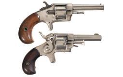 Two Antique Rimfire Revolvers