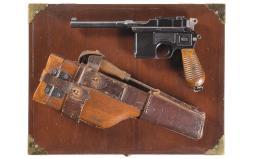Mauser Broomhandle Pistol 7.65 mm