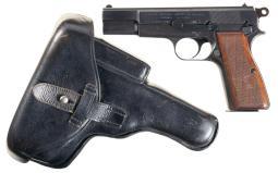 Fabrique Nationale Hi Power Pistol 9 mm para