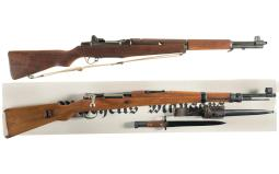 Two Military Rifles