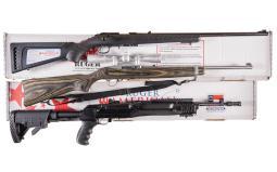 Three Ruger Sporting Long Guns