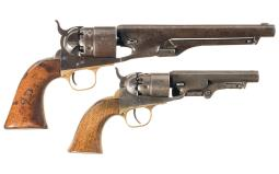Two Antique Colt Revolvers