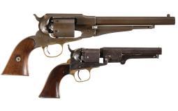 Two Percussion Revolvers