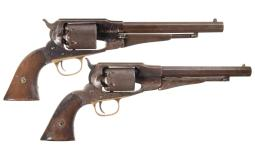 Two Remington New Model Revolvers