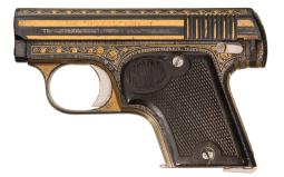 Spanish Semi-Automatic Pistol 6.35 mm