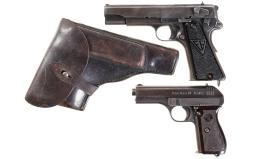 Two Nazi Marked Semi-Automatic Pistols