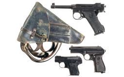 Three European Pistols