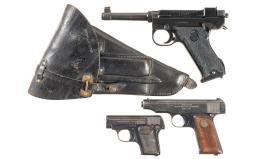 Three European Semi-Automatic Pistols