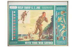 Two Framed World War II U.S. War Effort Posters