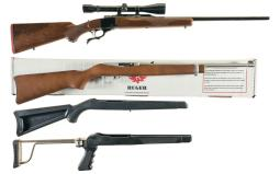 Two Ruger Sporting Rifles