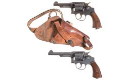 Two U.S. Smith & Wesson Military Double Action Revolvers