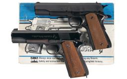 Two Model 1911 Semi-Automatic Pistols
