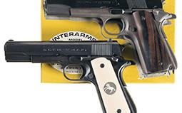 Two 22 Caliber 1911 Semi-Automatic Pistols