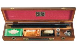 Cased James Purdey & Sons Cleaning Rod Set with Oiler