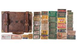 Vintage Ammunition and E.J. Churchill Salesman's Ammo