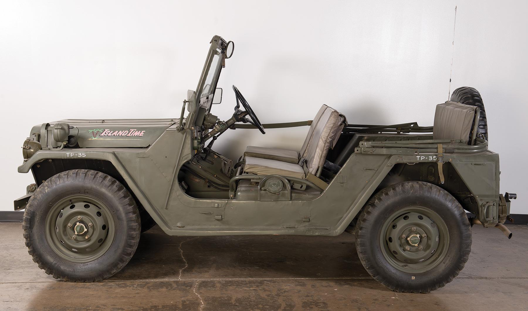 Am general corp am151a2 4x4 military jeep other firearms auction lot 2655