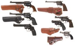 Seven Sporting Revolvers