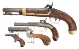 Four Pistols