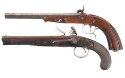 Two Antique European Pistols