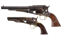 Two Civil War Era Percussion Revolvers