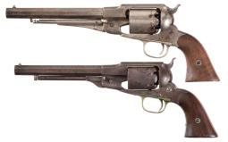 Two Remington Percussion Revolvers