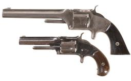 Two Antique Smith & Wesson Revolvers