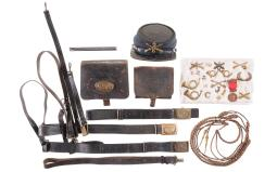 Group of Primarily Civil War Related Gear