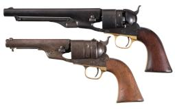 Two Colt Model 1860 Army Revolvers