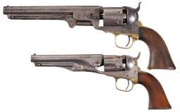 Two Civil War Era Colt Percussion Revolvers