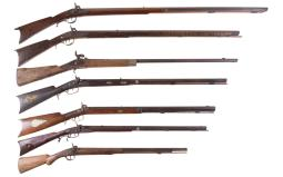 Seven Percussion Long Guns