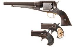 Three Remington Handguns