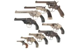 Nine Handguns