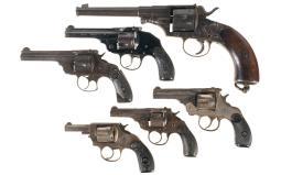 Six Revolvers